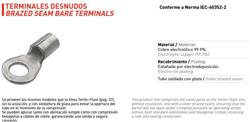 TERMINAL COBRE DESNUDO       C-11N