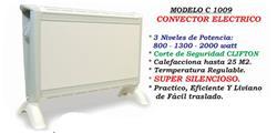 CONVECTOR 800/1300/2000W SILENCIOSO /25MT2 C1009