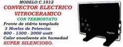 CONVECTOR VITROCER/TERMOST.800/1300/2000W C1012
