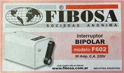INTERRUPTOR 2X30A F-602 FIBOSA