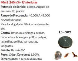 AHUYENTA RATA/MURC/ARA/CUCA/GARR/