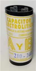 CAPACITOR      210/240uF (1/3HP)    110V