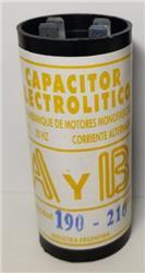 CAPACITOR      190/210uF  (1/3HP)   110V