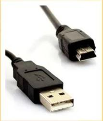 CABLE USB MACHO (A)/ MINI USB MACHO 5P  2Mts 3866