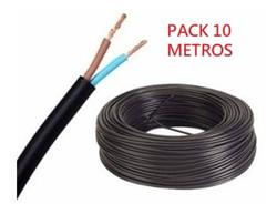 PACK 10 MTS.CABLE T.TALLER 2X0,75 MM