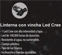 LINT/VINCHA 1 LED       3XAAA