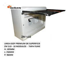 CAJA APLICAR P/FUME IP40 10 MODULOS ZM510