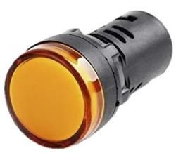 SEÑAL LED AMBAR 220V CA-CC