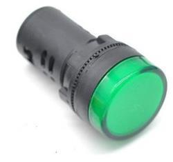 SENAL LED VERDE 220V CA-CC