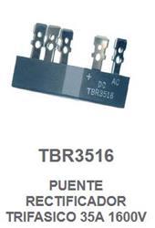 PUENTE RECTIFICADOR TRIFASICO 35A 1600V