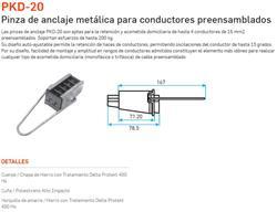 PINZA ACOMETIDA METALICA     PKD-20