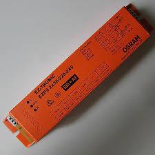 BALASTO EZP8 2X36W/220-240V