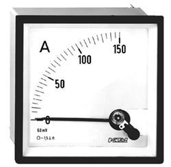 AMPERIMETRO BC72 72MM -50/0/50ACC CIRCUTOR