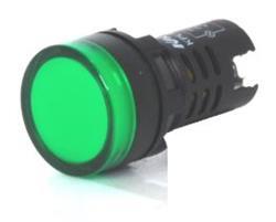 SENAL LED VERDE 24V CA-CC KACON COREA