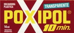 POXIPOL TRANSPARENTE 10 MINUTOS  16G / 14ML CHICO