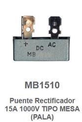 PUENTE RECTIFICADOR 15A/1000V