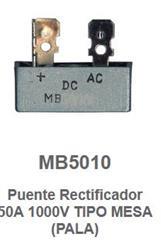 PUENTE RECTIFICADOR 50A/1000V