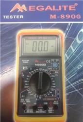 TESTER 750V 20A CA-CC /20UF/TEMP.  M-890G