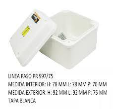 CAJA PVC ESTANCO 92X 92X75  PR 997/75