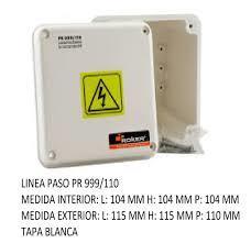 CAJA PVC ESTANCO 115X115X110 PR999/110
