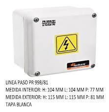 CAJA PVC ESTANCO 115X115X81  PR 998/81