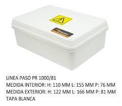 CAJA PVC ESTANCO 166X122X81 PR 1000/81