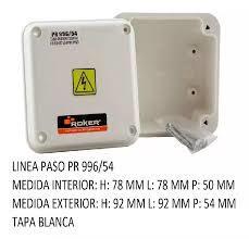 CAJA PVC ESTANCO 92X 92X54  PR 996/54