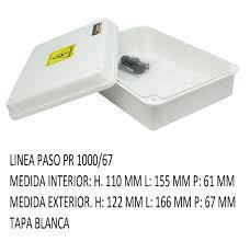 CAJA PVC ESTANCO 166X122X67 PR 1000/67