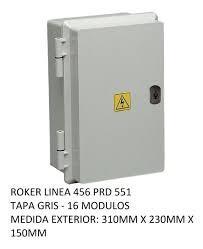 CAJA APLICAR 16 MODULOS CIEGA IP65 PRD551