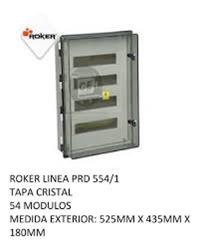 CAJA APLICAR 54 MODULOS P/TRANSPARENTE IP65 PRD5541