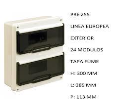 CAJA APLICAR 24 MODULOS P/FUME IP55 PRE255