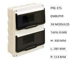 CAJA EMBUTIR 24 MODULOS P/FUME IP55 PRE275