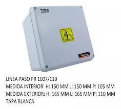 CAJA PVC ESTANCO 165X165X110 PR1007/110