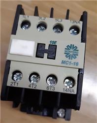 CONTACTOR MC1-16-10E-T0A5  16A 1NA  380V