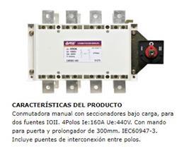 CONMUTADORA 4X 160A +MANIJA+PUENTES 51272 BAW