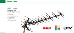 ANTENA TV TDA 43 ELEMENTOS   CANAL 21/69