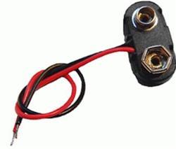 CONECTOR P/BATERIA 9V CABLE 15CM. 6171
