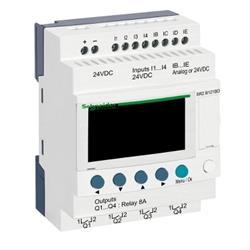 ZELIO LOGIC 8E/4S 24VDC SR2B121BD