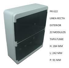 CAJA APLICAR 22 MODULOS P/FUME IP40 PR622