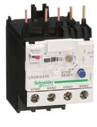 RELE TERMICO P/CONTACTOR K 2.6 /3.7 MINI LR2K0310