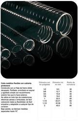 MTS.CAÑO FLEXIBLE METALICO C/PVC 1/2