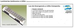 LUZ EMERGENCIA  30 LEDS     AUTONOMO 18HS