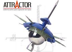 PARARRAYO ACTIVO ATTRACTOR P4500