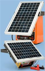 ELECTRIFICADOR PICANA® SOLAR 20 /20 KM C/PANEL 5 W S1100
