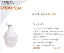 LUMINARIA T/PERITA COLUMNA CHAPA (E40)250W PROF