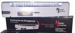 LUZ EMERGENCIA 51 LEDS     AUTONOMA 16HS  NI-L5120