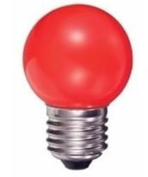 LAMPARA LED GOTA ROJA  1 W  80LM E27