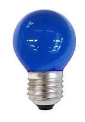 LAMPARA LED GOTA AZUL  2 W 160LM E27
