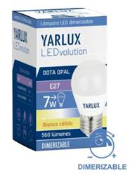 LAMPARA LED GOTA   7 W CALIDA  450LM E27 DIMMER