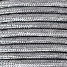 MTS.CABLE TEXTIL 2X0,50 MM GRIS